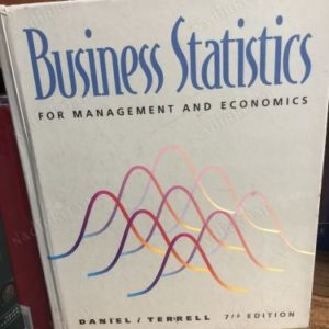 BUSİNESS STATİSTİCS FOR MANAGEMENT AND ECONOMICS 7TH EDITION